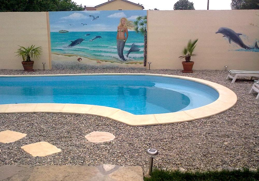 Les fresques murales de jean marc fraisse - Fresque sur mur exterieur ...